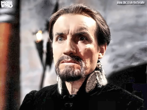 Actor Anthony Ainley as Dr. Who