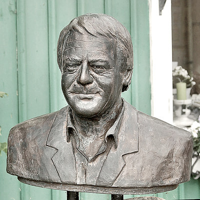 Statue of Music Producer Stig Anderson
