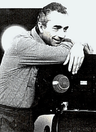 Director Michelangelo Antonioni