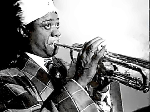 Jazz Trumpeter Louis Armstrong