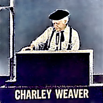 Actor Cliff Arquette as Charley Weaver