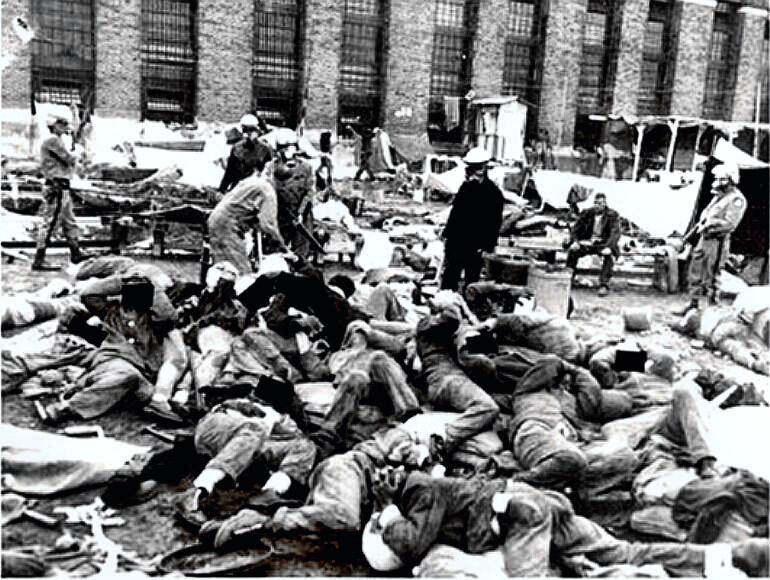 Aftermath of Attica Riot scene