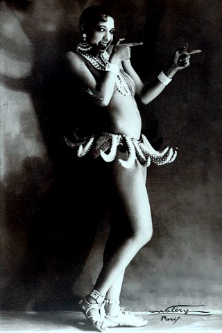 Dancer Josephine Baker