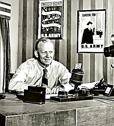 Sportscaster Red Barber