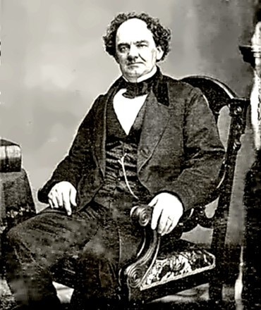 Showman P.T. (Phineas Taylor) Barnum