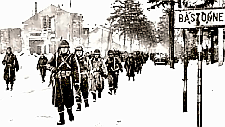 Bastogne - US forces occupy town