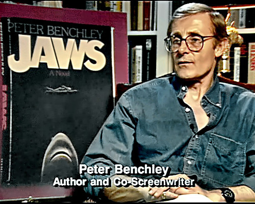 Writer Peter Benchley