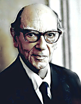 Philosopher Isaiah Berlin