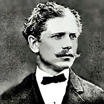 Writer Ambrose Bierce in 1866