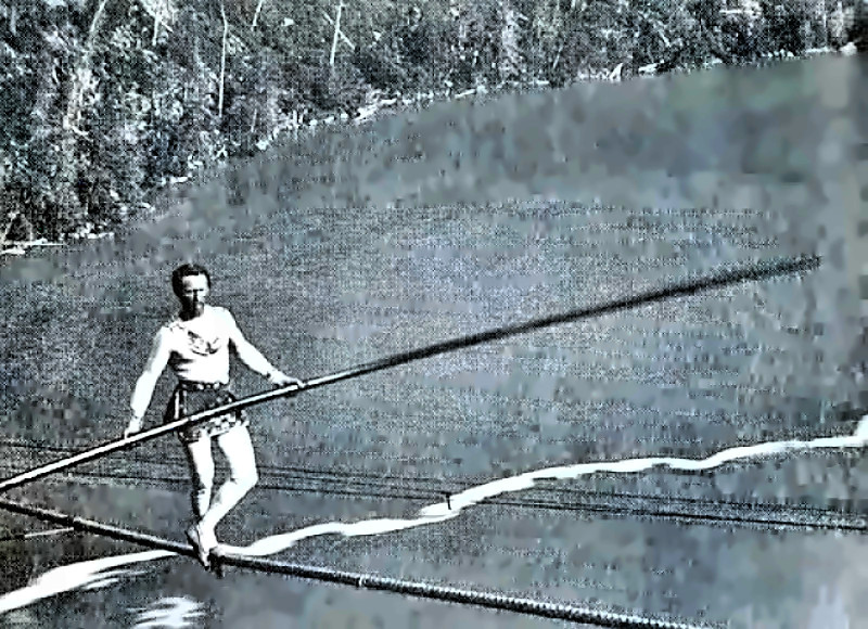 Tightrope Walker Charles Blondin