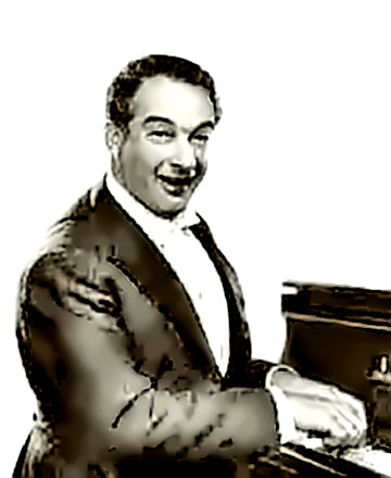 Pianist Victor Borge