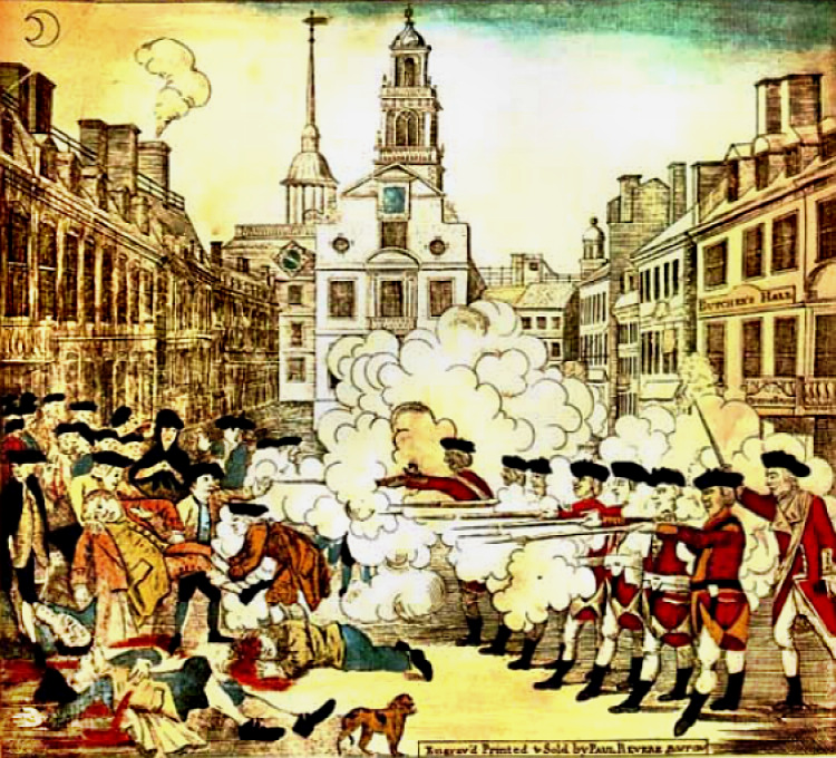 The Boston Masacre