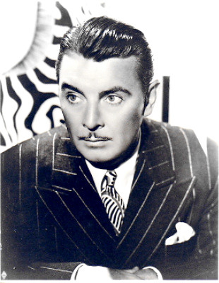 Actor George Brent