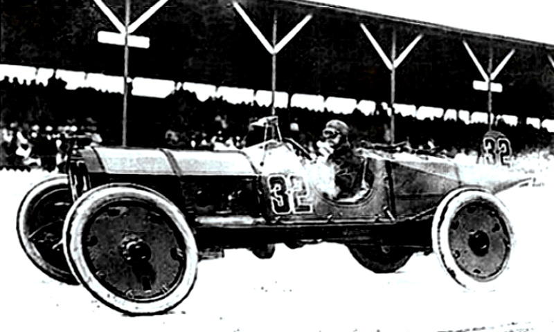 Ray Harroun wins at the Brickyard in 1911