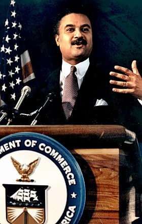Commerce Secretary Ron Brown