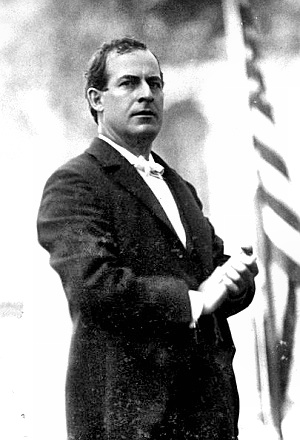 Candidate William Jennings Bryan