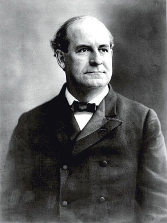 Orator William Jennings Bryan
