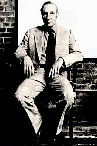 Writer William S. Burroughs