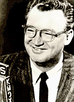 Sportscaster Harry Carey