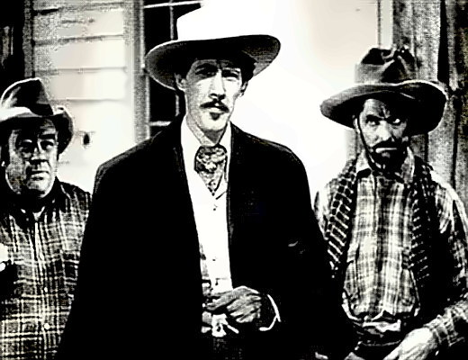 Actor John Carradine in Stagecoach