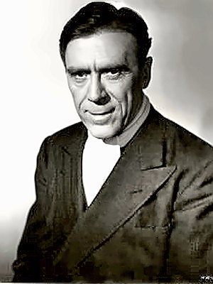 Actor Leo G. Carroll