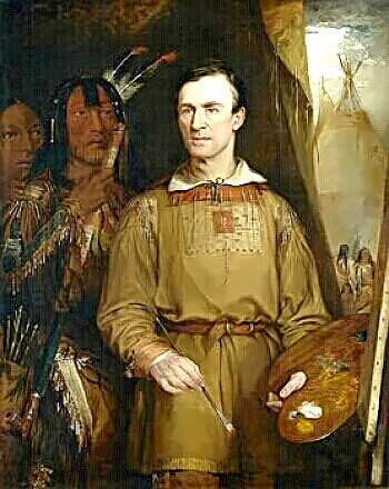 Artist George Catlin by Fisk