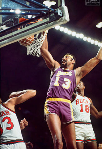 Great Wilt Chamberlain dunks