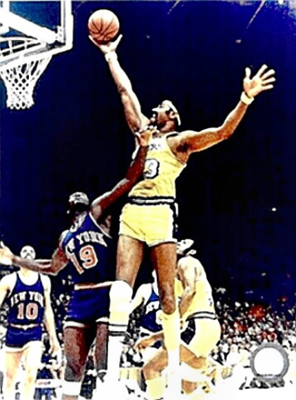 Basketball Great Wilt Chamberlain