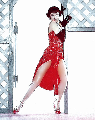 Dancer & Actress Cyd Charisse