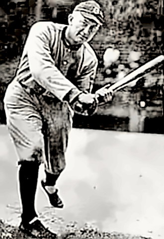Ty Cobb hits surgically