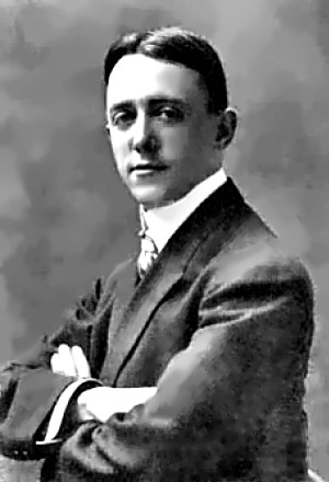 A young George M. Cohan