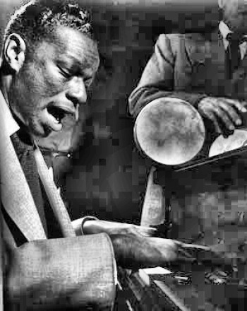 Bandleader Nat 'King' Cole