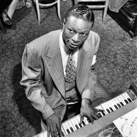 Singer Nat 'King' Cole