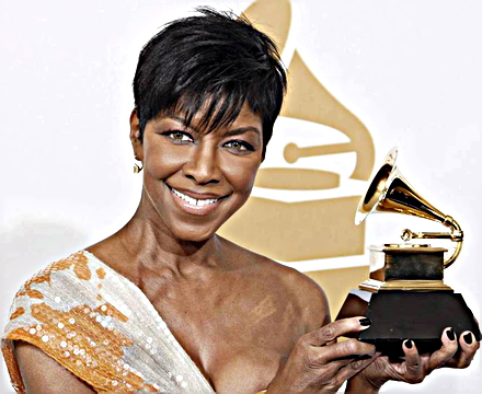 Grammy Award-winning singer Natalie Cole