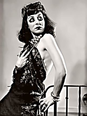 Actress Betty Comden