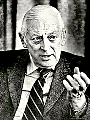 Narrator Alistair Cooke