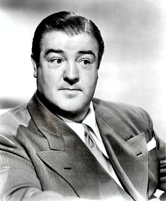 Comedian Lou Costello Portrait