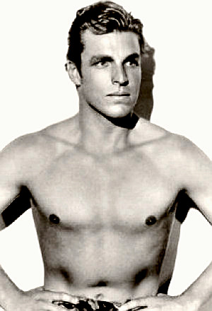 Actor Buster Crabbe