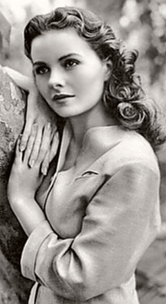 Actress Jeanne Crain