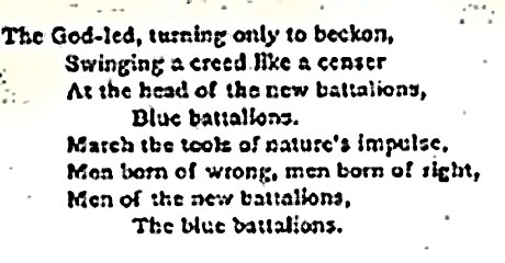 Stephen Crane - Blue Battalions