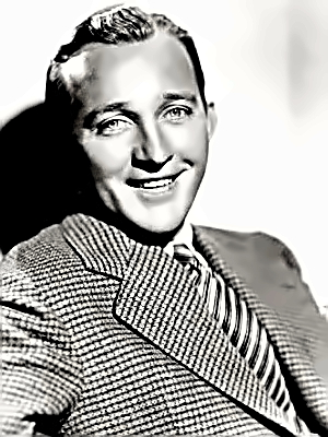 Crooner Bing Crosby