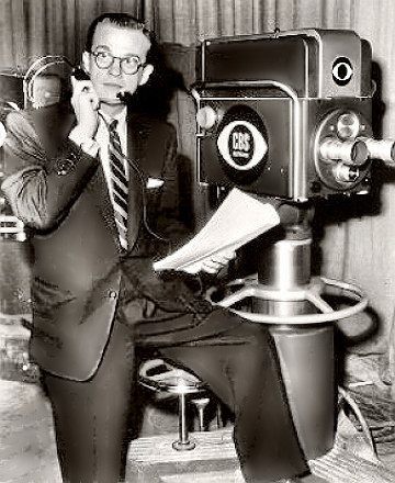 TV's Bill Cullen at work
