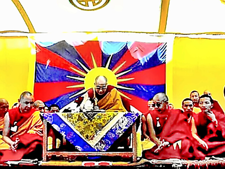 The Dalai Lama of Tibet