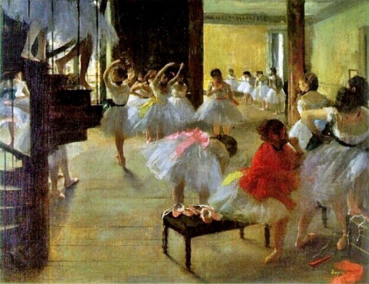 Painter Edgar Degas' - Ecole de Danse
