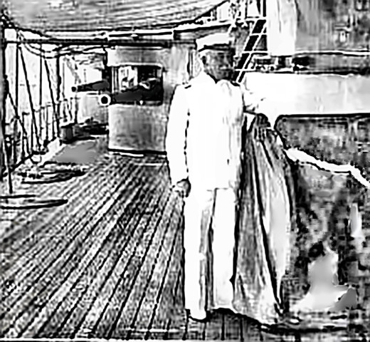 Admiral Dewey in Battle of Manila Bay