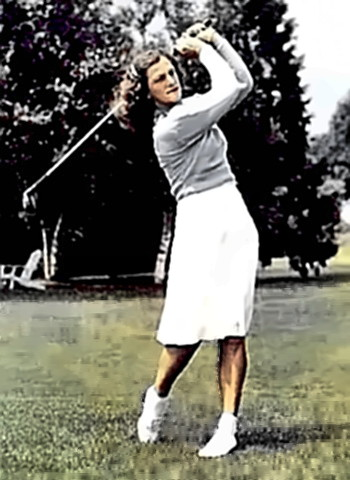Athlete Mildred Didrikson Zaharias