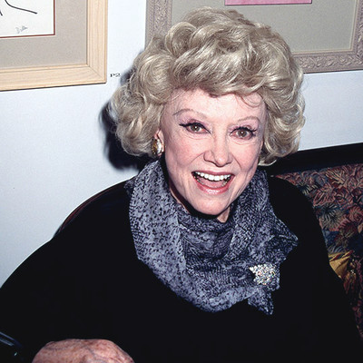 Comedienne Phyllis Diller