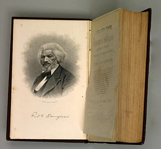 Abolitionist Frederick Douglass' Book