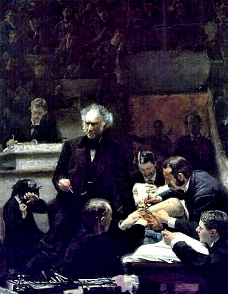 Thomas Eakins - The Gross Medical Clinic