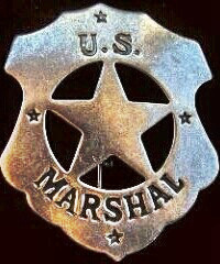 Wyatt Earp - marshal badge